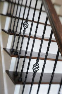 A Whole House Transformation - traditional - staircase - columbus - by Dave Fox Design Build Remodelers