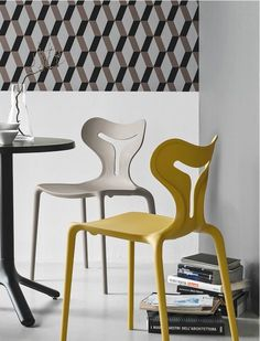 Connubia Calligaris   Area 51 Dining Chairs   Suitable indoors and outdoors.