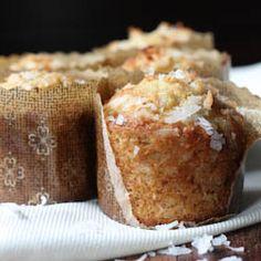Banana Coconut Crunch Muffins HealthyAperture.com