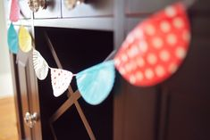 Superb baby shower with wisks & spatulas hung from the ceiling, cupcake liner garland, pot holders held the napkins/utensils, & more. Cupcake Garland, Cupcake Party, Paper Cupcake, Baking Birthday Parties, Baking Party, Shower Party, Baby Shower Parties, Shower Inspiration, Baby Sprinkle