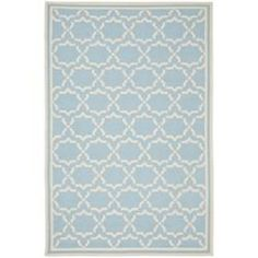 @Overstock - Moroccan Light Blue/Ivory Dhurrie Wool Rug. Moroccan inspired design and dense hand-woven wool pile highlight this handmade dhurrie rug. This floor rug has a light blue background and displays stunning panel colors of ivory.http://www.overstock.com/Home-Garden/Moroccan-Light-Blue-Ivory-Dhurrie-Wool-Rug-3-x-5/6081833/product.html?CID=219283