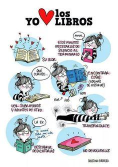 Yo amo los libros!!!