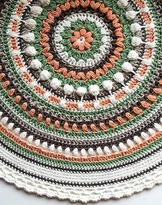 [Free Pattern] Stunningly Beautiful Crochet Mandala Pattern