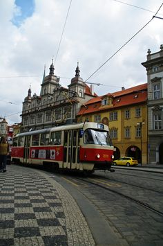 1000 Images About Red White Prague Trams On Pinterest Prague Prague Czech Republic And