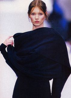 Kate Moss at Complice Fall/Winter 1993. Kate Moss (Runway/Catwalk & Backstage)