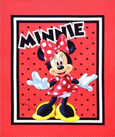 Mickey, Minnie Mouse Fabric Online