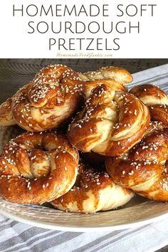 Sourdough Soft Pretzel Recipe, Vegan Pretzel Recipe, Sourdough Starter Discard Recipe, Pretzels Recipe, Sourdough Recipes, Sourdough Bread, Bread Machine Recipes, Bread Recipes, Starter Recipes