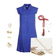 love Short Sleeve Dresses, Dresses With Sleeves, Shirt Dress, Shirts, Style, Fashion, Shirtdress, Moda, La Mode