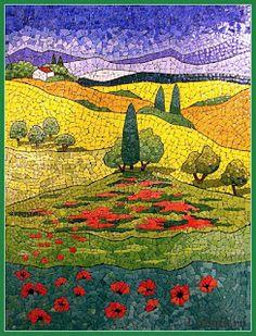 beautiful eggshell mosaic designs by Lyubov Meshakina Mosaic Tile Art, Mosaic Artwork, Mosaic Crafts, Mosaic Projects, Mosaic Glass, Glass Art, Stained Glass, Mosaic Designs, Mosaic Patterns