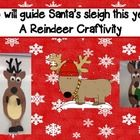 Creative writing craftivity! The reindeers all want to guide santa's sleigh this year but they have to figure out how they will light the way since their noses don't light up! Creative responses have included iPhone flashlight, light up jewelry...etc! This is a fun activity to get your students thinking outside the box!