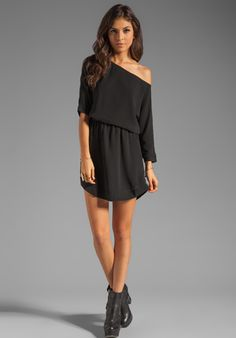 LOVERS + FRIENDS Easy Dress in Black at Revolve Clothing