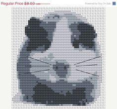 Guinea Pig Cross Stitch Pattern