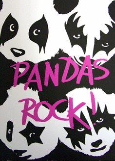 Kiss pandas @Eddy Rivera