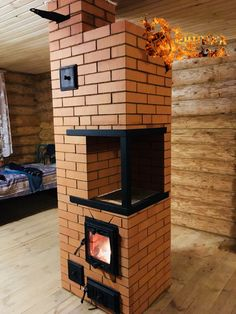 Outdoor Stove, Pizza Oven Outdoor, Wood Stove Cooking, Kitchen Stove, Home Stairs Design, House Design, Wood Stove Heater, Outdoor Toilet, Brick Bbq
