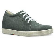 Height Increase: 2.75 Inches  http://www.roccoshoes.com/casual-shoes/cliff-grey