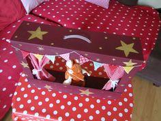 J'ai déjà commencé à fabriquer les cadeaux de Noël car je sais que le temps file à toute vitesse et que les imprévus ou impératifs...