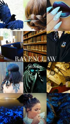 Ravenclaw aesthetic is actually the best