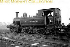 Metropolitan Railway 'B' class no. 41 was built by Beyer Peacock in 1869 and was one of only five that were taken into London Transpo. London Underground Train, Old Steam Train, London Transport, Steam Engine, Steam Locomotive, British Isles, Great Britain, Legos, Peacock