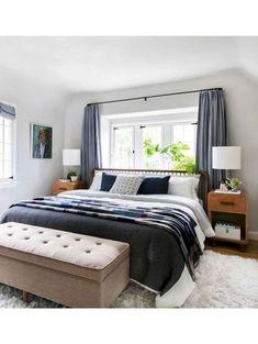 + 46 Romantic Master Bedroom Decor On A Budget Diy Headboards At A Glance 49 Relaxing Master Bedroom, Master Bedroom Design, Home Decor Bedroom, Master Bedrooms, Cozy Bedroom, Bedroom Furniture, Bedroom Rugs, Bedroom Rustic, Interior Livingroom