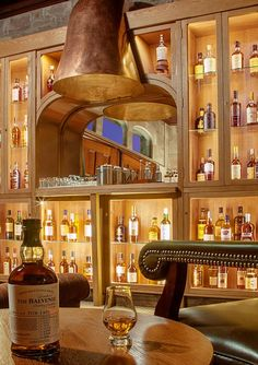 The Whisky Room at Cromlix House...