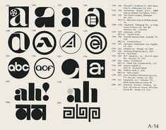 A-14 / World of Logotypes