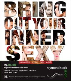 Bring Out Your Inner Sexy - Raymond Stark Salon - Advertisement for Dallas Observer