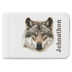 Wolf Head For Men And Teen Boys Power Bank - beauty gifts stylish beautiful cool