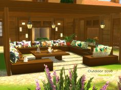 Sims 4 CC's - The Best: Outdoor Furniture by ShinoKCR