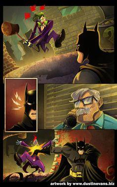 BATMAN page 4 by MagicHatCreative.deviantart.com
