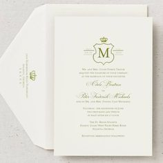 prince william and kate middleton royal wedding invitations royal wedding bridescom - Royal Wedding Invitation