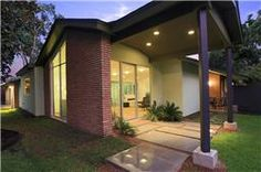 Modern homes houston on pinterest houston engine and Mid century modern homes for sale houston