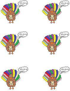 Turkey Goody Bag Template.jpg (1019×1319)