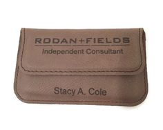 Rodan and Fields Business Card Holder by EngravedMomentos on Etsy
