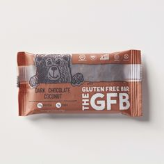 The Gluten Free Bar: Dark Chocolate Coconut Simple, non-GMO ingredients: organic dates, complete protein blend (brown rice protein, pea protein), organic brown rice syrup, organic dark chocolate (organic chocolate liquor, organic cane sugar, organic cocoa butter), organic agave nectar, toasted coconut, organic crisped brown rice, organic sunflower seeds, cocoa powder, vanilla extract, natural coconut flavor, golden flaxseed, sea salt. contains coconut.