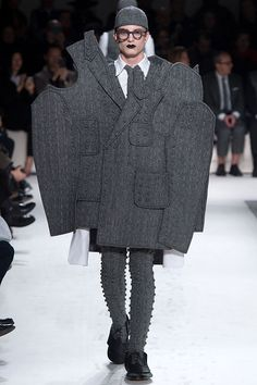 Suits You: Thom Browne Men's Fall 2017 | Hint Fashion Magazine