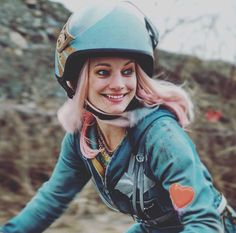 Laurence Leboeuf as Apple from Turbo Kid.