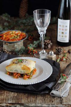 Otra receta para el menú de Navidad, fácil y rápido de hacer. Las verduras las podemos dejar preparadas con antelación y en cuestión de 10 ... Pasta, Sweet And Salty, Health, Chefs, Biscuit, Garden, Photography, Gastronomia, Hake Recipes