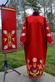 Women's Traditional Embroidered Powwow Regalia                                                                                                                                                     More