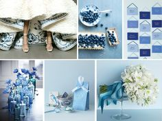 Blue wedding ideas and inspiration