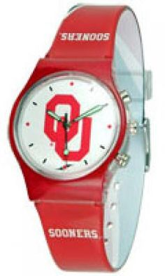 Suntime: Team Fusion Watches - Oklahoma Sooners. Find your team @ ReadyGolf.com