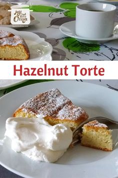 This German Hazelnut Torte recipe was one of my Mutt's favorite. Special, yet very easy to make. We all loved it, especially with marzipan frosting. Then special became extra special.