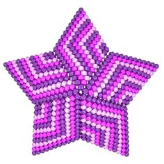 TUTORIAL HAZE 3D PEYOTE STAR + Basic Instructions Little 3D Peyote Star This beading pattern provides a colour diagram and text to create the Haze 3D Peyote Star in 3 different colourways: Purple Haze, Blue Haze and Green Haze Included are also the step by step instructions with clear