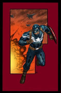 Captain America by Tim Brown