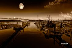 Harbour Light by Mike Thompson