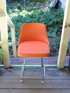 Reserved Sale Vintage Cosco Swivel Kitchen Stool Chair