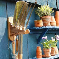 Porte outils de jardin - ON RANGE TOUT