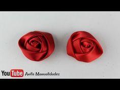 Flor Botón Grande ACTUALIZADO PASO A PASO - YouTube