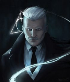 gellert grindelwald - Was definitely not expecting to see johnny depp in fantastic beasts