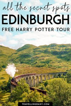 10 secret Harry Potter spots in Edinburgh you should see! - The very best 10 Harry Potter Spots in Scotland are located in Edinburgh! This self guided tour wil - Visit Edinburgh, Edinburgh City, Scotland Vacation, Scotland Travel, Scotland Trip, Scotland Tours, Glasgow Scotland, Edinburgh Harry Potter, Harry Potter Train Scotland