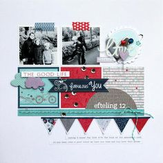 #papercraft #scrapbook #layout    Fabulous You by piradee at Studio Calico